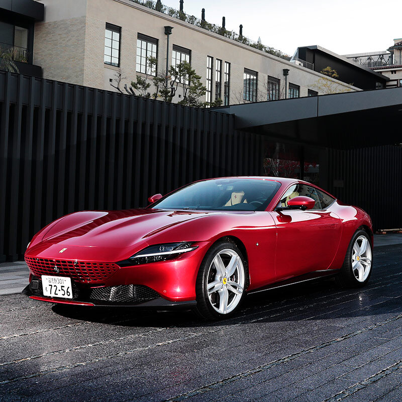 まさに「イブニングドレスに身を包んだF1マシン」そのものだった──フェラーリ ローマに試乗|Ferrari