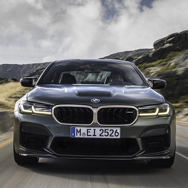 世界1100台限定のM5最強のコンペティションモデルM5 CSがデビュー BMW
