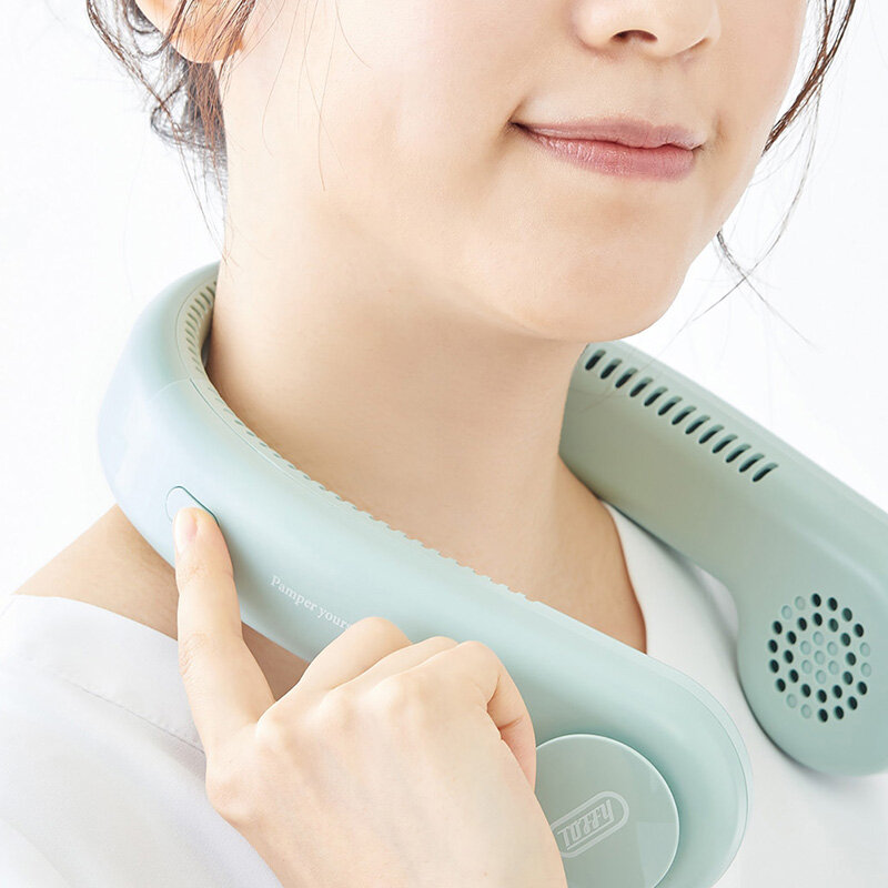 マスクによる熱中症対策にも。首回りにハンズフリーで快適な涼しさを|Toffy