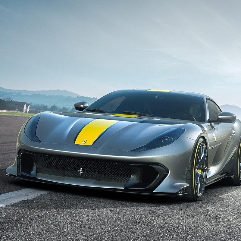 フェラーリ、最新リミテッドエディション・スペシャルシリーズ「812コンペテツィオーネ」「812コンペテツィオーネA」を発表|Ferrari