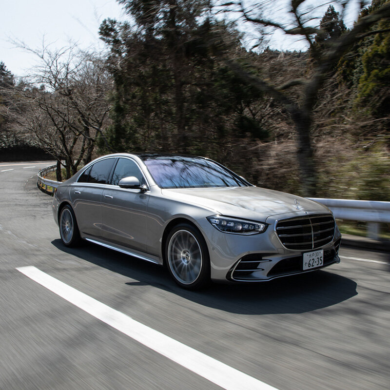 箱根を走るのが実に楽しいクルマに──新型メルセデス・ベンツSクラスに試乗 Mercedes Benz