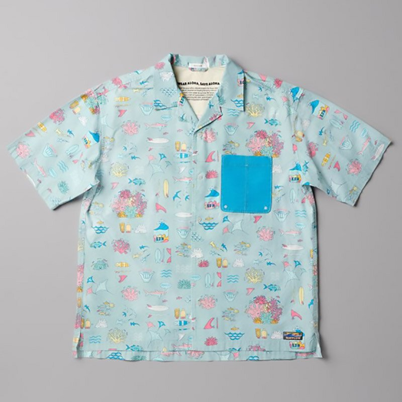 アロハシャツに込める自然環境への想い。「WEAR ALOHA,SAVE ALOHA.」プロジェクト BAYFLOW