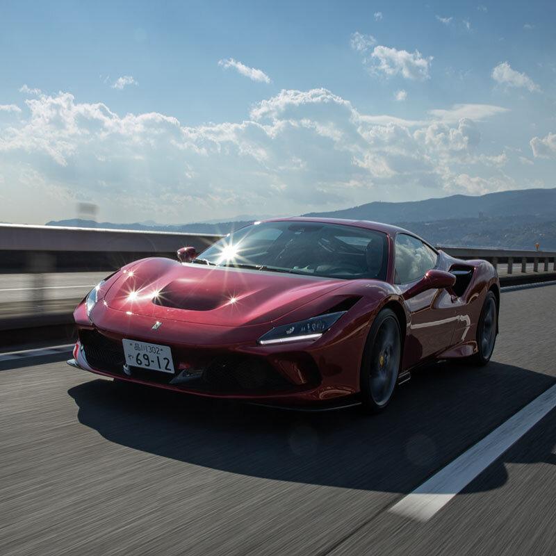 週末のサーキット通いの楽しさを知っている人に──フェラーリF8 トリブートに試乗 Ferrari