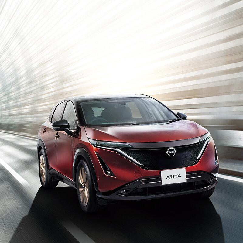日産、新型EV「アリア」日本専用限定モデル「リミテッド」を発表|NISSAN