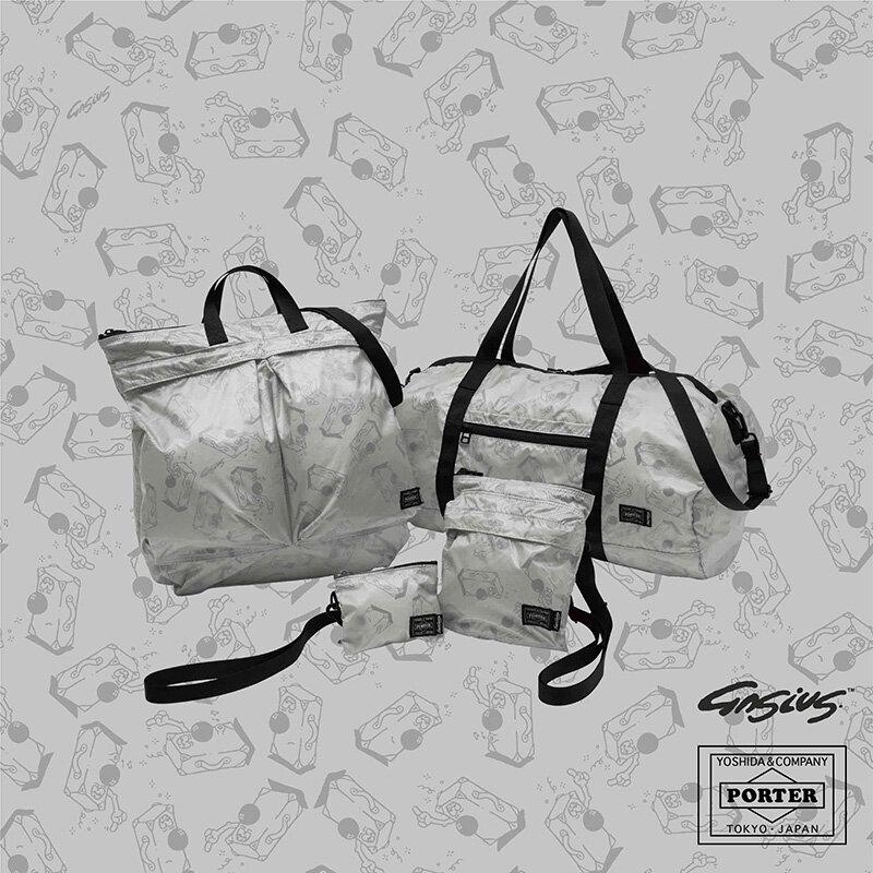 「ポーター」が「ガシアス」とコラボレーションした新作バッグにユニークなオリジナルキャラ登場 GASIUS×PORTER