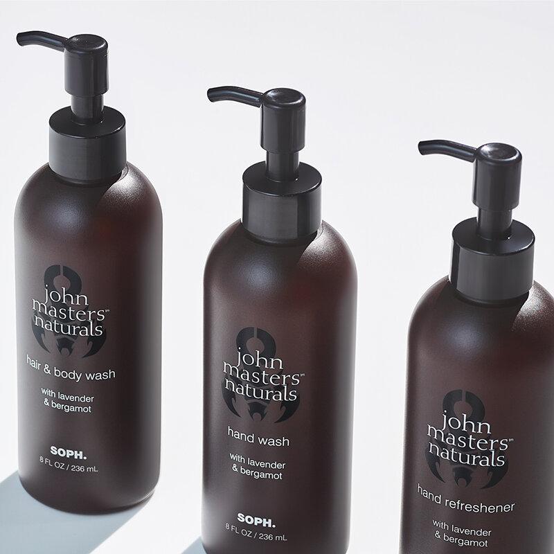 洗練された大人の香りを纏うSOPH.とのコラボレーションアイテム|JOHN MASTERS ORGANICS