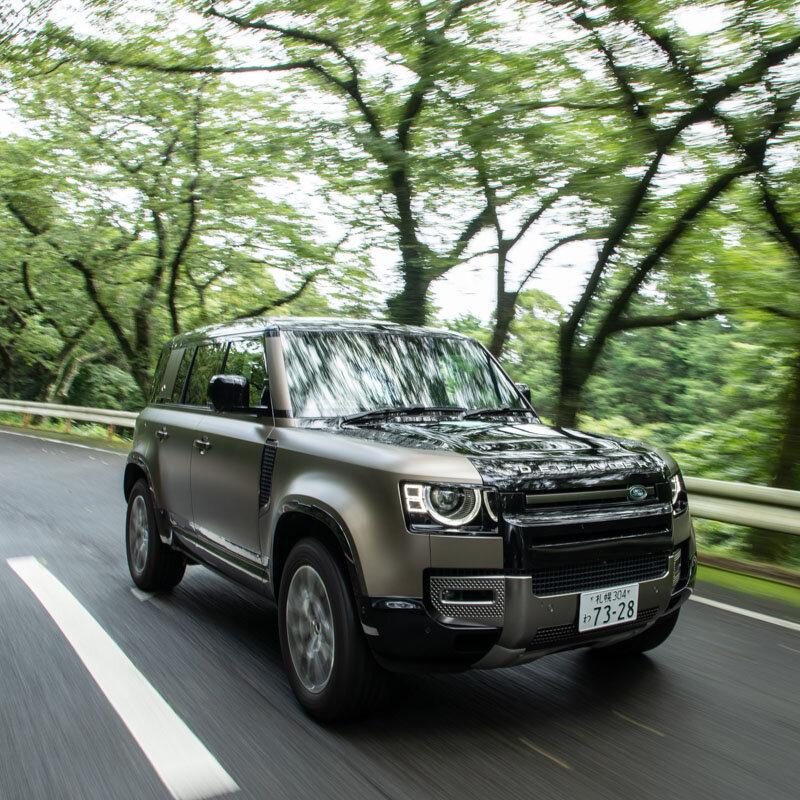 110ファンにとって大いなる朗報──新型ディフェンダー110のディーゼルモデルに試乗|Land Rover
