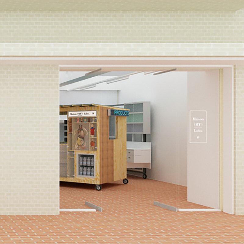 メゾン ミハラヤスヒロのコンセプトショップ「 Maison (MY) Labo. 」|Maison MIHARA YASUHIRO