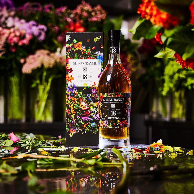 グレンモーレンジィのイメージを約100種類の花で表現した、東 信氏とのコラボモデル|GLENMORANGIE