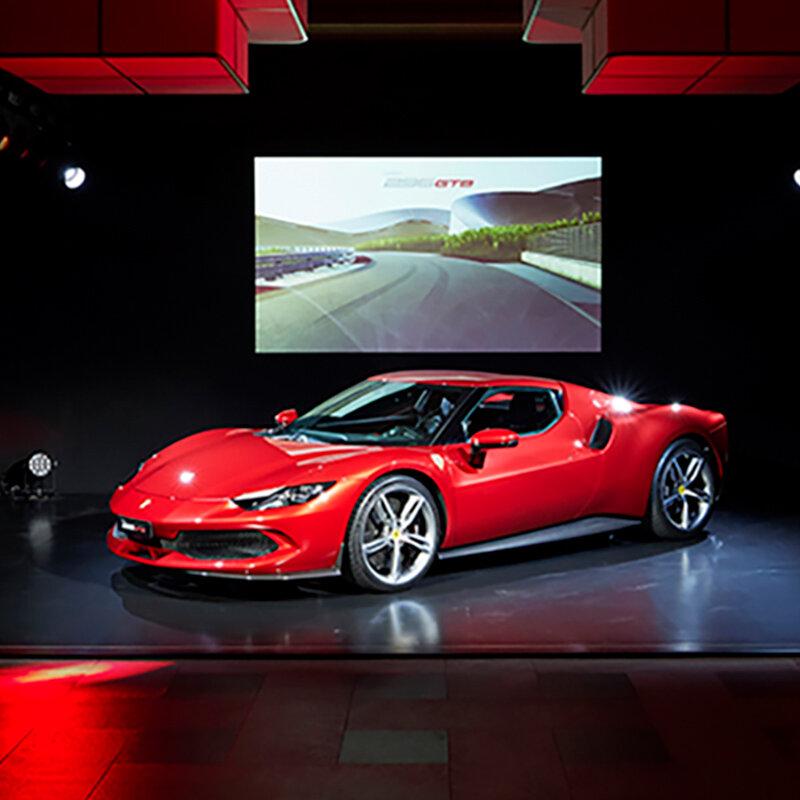 システム最高出力は830cv──フェラーリのV6 PHEVベルリネッタ「296GTB」が日本上陸|Ferrari