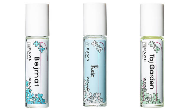 人気の3種類の香りが、持ち運べるアイテムとなって新登場|DAWN  Perfume