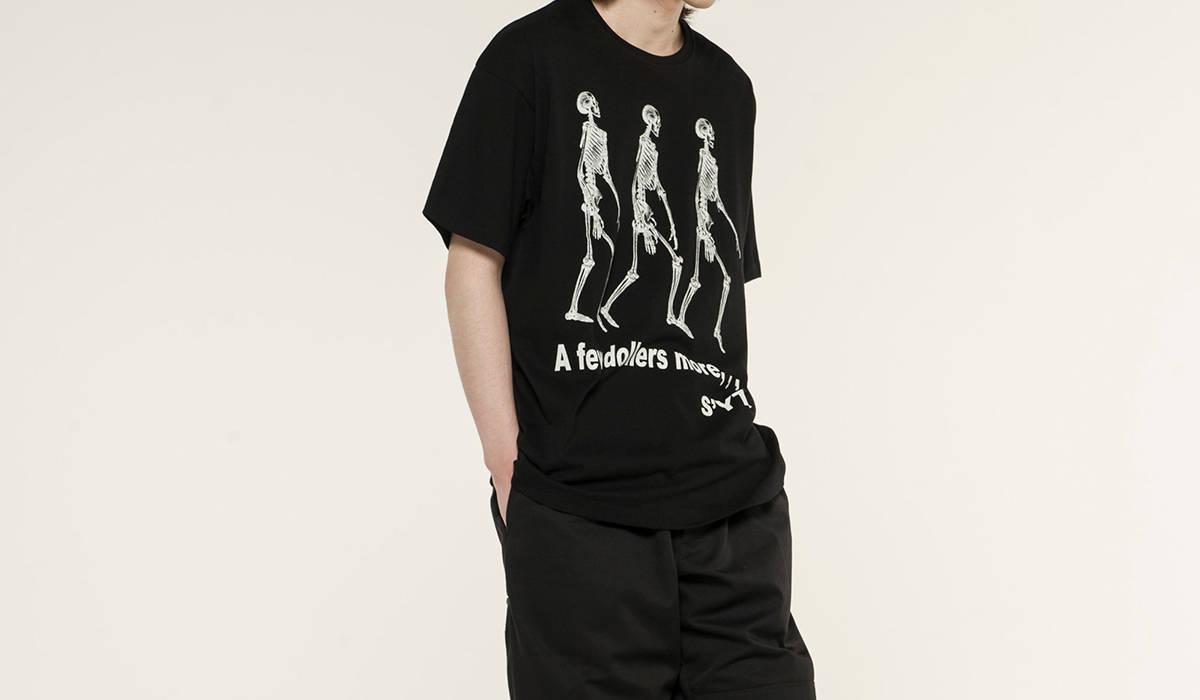 ヨウジヤマモトのTシャツコレクション「S'YTE GRAPHIC T COLLECTION」|Yohji Yamamoto