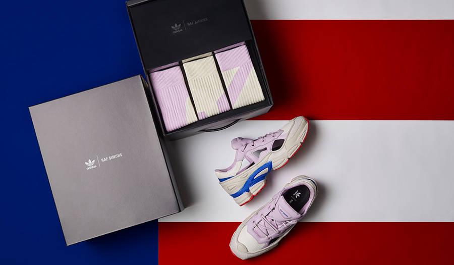 アディダス バイ ラフ・シモンズより、USAカラーモデルが到着 adidas by RAF SIMONS