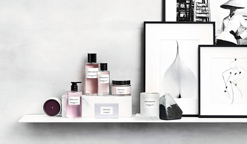 上質なライフスタイルを提案するディオールのフレグランスコレクション|Dior