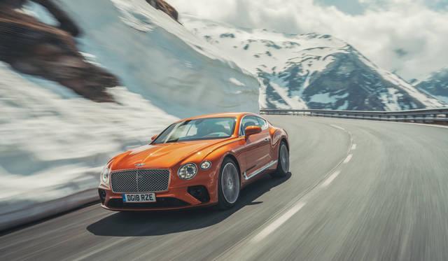 新型ベントレー・コンチネンタルGTに試乗|Bentley