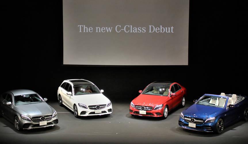 改良型メルセデス・ベンツ Cクラス、日本上陸|Mercedes-Benz