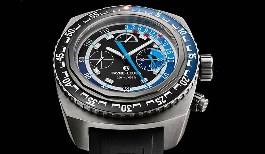 世界初、水深120mまで計測可能な「レイダー・バシィ120メモデプス」|FAVRE-LEUBA