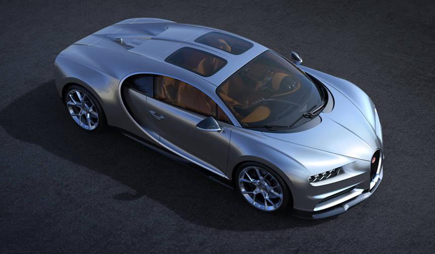 ブガッティがシロンの新オプション「スカイビュー」を発表 Bugatti