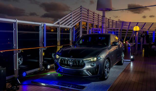 マセラティがレヴァンテGTSを船上で日本初披露|Maserati