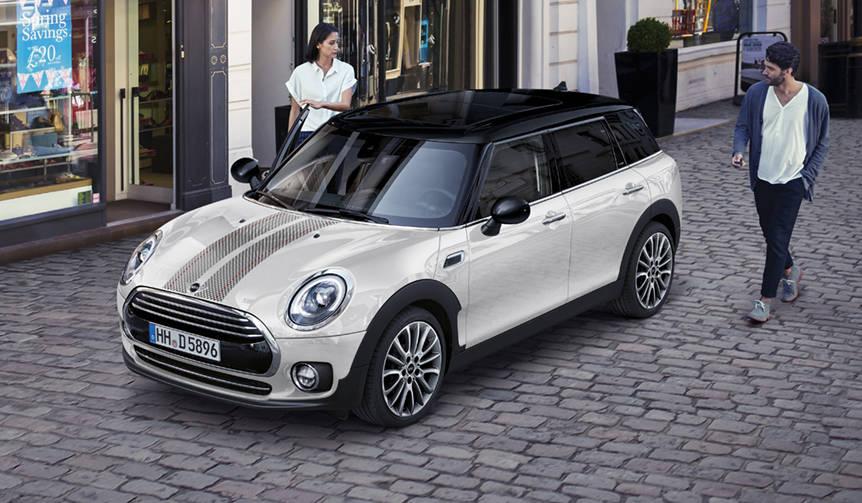 イタリアンブランドとコラボしたMINIクラブマンの限定車|Mini