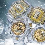 クリアスケルトンがゴールドカラーを引き立たせるG-SHOCK限定モデル|CASIO