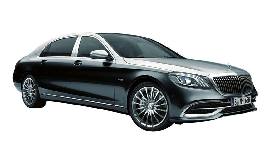 マイバッハSクラスにオプションを追加 Mercedes-Maybach