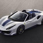 フェラーリが新型オープンモデル「488ピスタ スパイダー」を公開|Ferrari