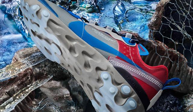 アンダーカバーとコラボした「ナイキ リアクト エレメント 87」に新色4カラーが登場|NIKE