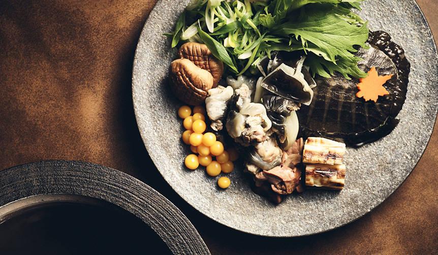 日本料理「風花」にて、美食の秋を代表する「すっぽんづくしコース」を|CONRAD TOKYO