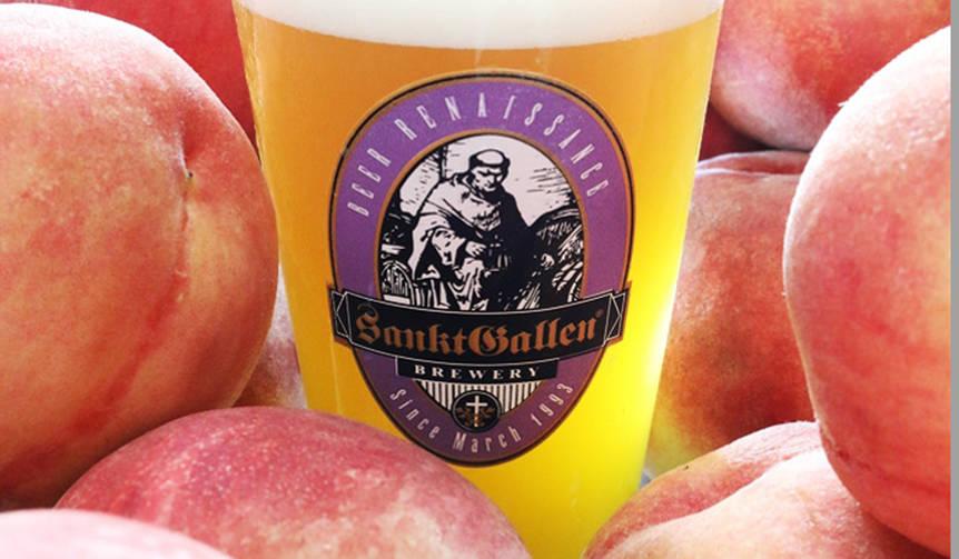 樽生限定! クラフトビール「7種の桃のエール」|Sankt Gallen Brewery