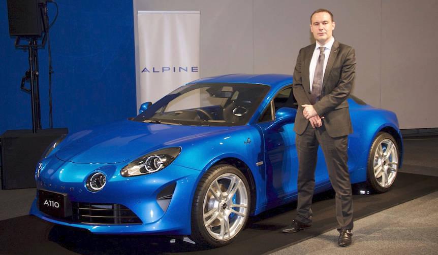新型アルピーヌA110のカタログモデルを公開|Alpine