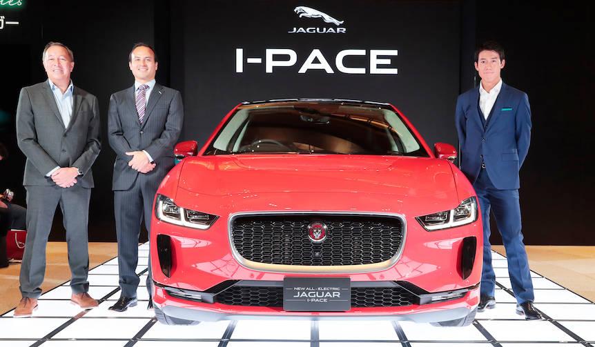 ジャガー初の電気自動車「I-Pace」が日本での受注を開始|Jaguar