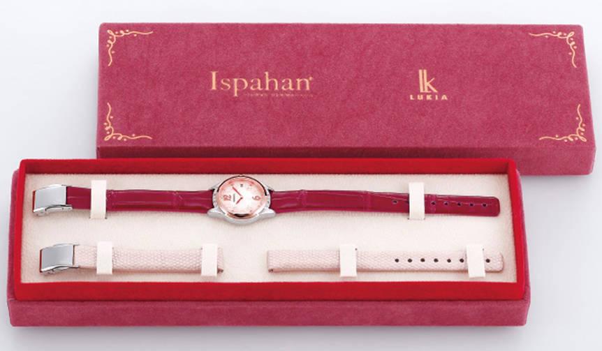 ピエール・エルメの「イスパハン」と「キャレマン ショコラ」が腕時計に!|SEIKO