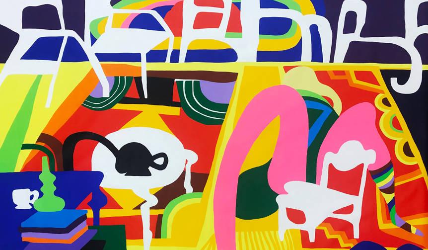 室内を描いた新作を含むトッド・ジェームスの個展、渋谷NANZUKAで開催|ART