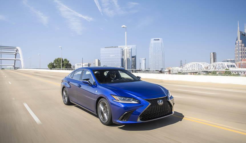 新型レクサスESに試乗|Lexus