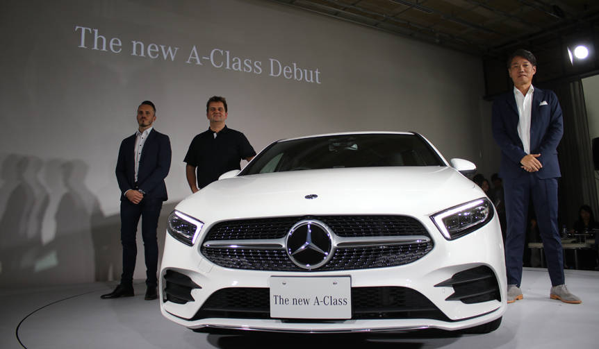 次世代コンパクト メルセデス「Aクラス」国内導入開始|Mercedes-Benz