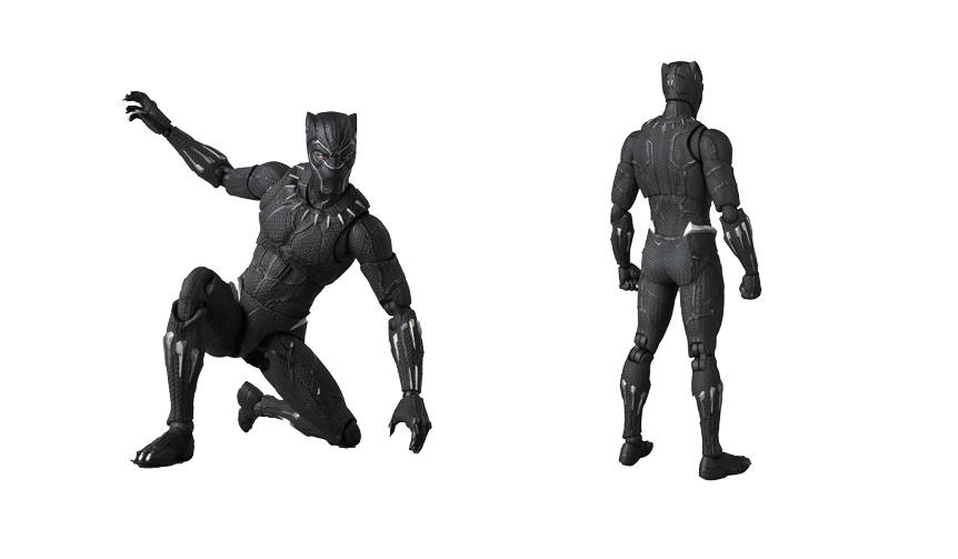 MAFEX BLACK PANTHER|MEDICOM TOY