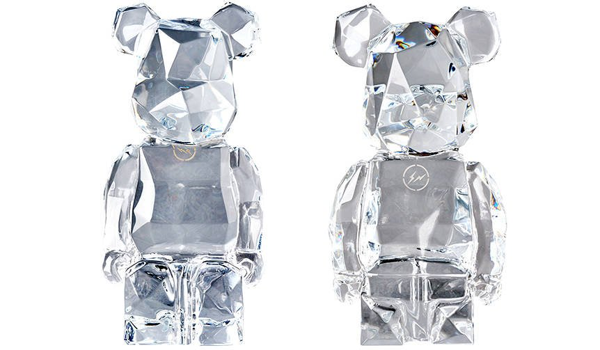 Baccarat fragmentdesign BE@RBRICK|MEDICOM TOY