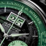 世界限定200本。ネオングリーンの光彩を放つクロノグラフ|A.LANGE&SÖHNE