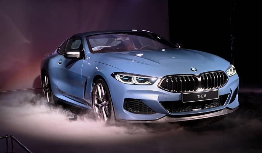BMW新フラグシップクーペ「8シリーズ クーペ」発表 BMW