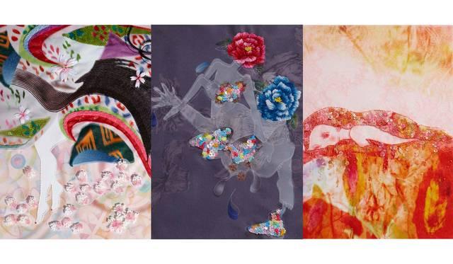 アーティスト清川あさみによる「千年後の百人一首」原画展|ART
