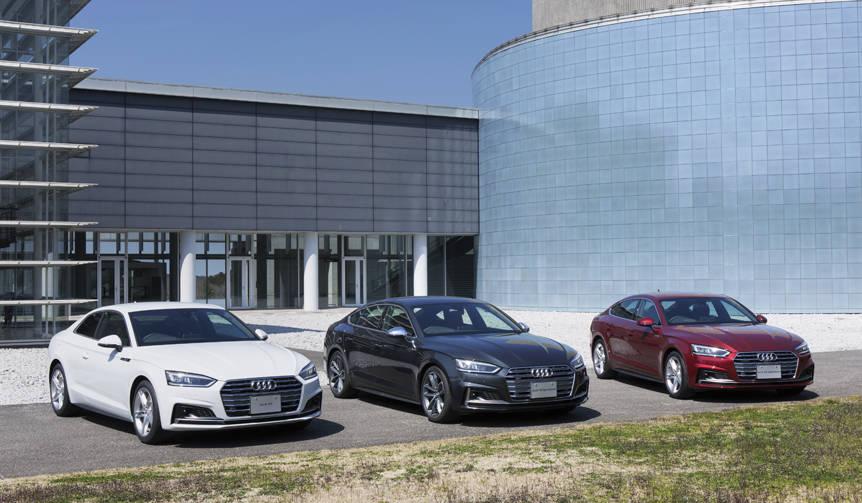 アウディ、装備充実のA5/S5/RS5登場 Audi