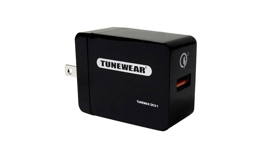 最大4倍!スマートフォンを急速充電する小型電源アダプタが発売|TUNEWEAR