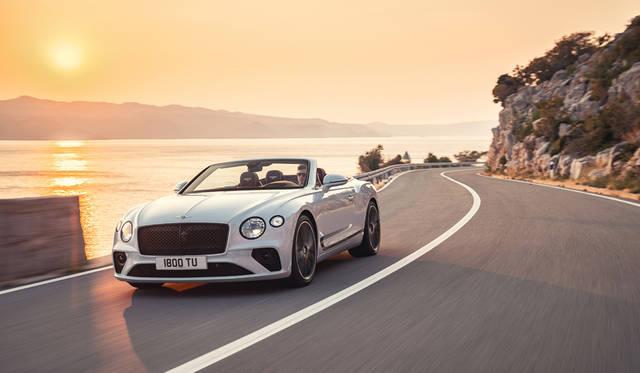 新型コンチネンタルGT コンバーチブルが誕生 Bentley