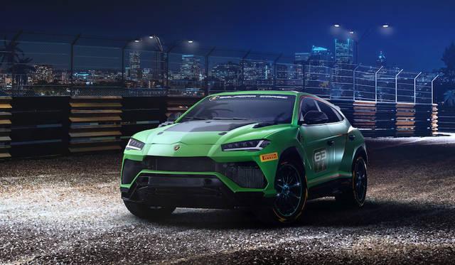 ランボルギーニのSUV「ウルス」にレース仕様のコンセプトモデル Lamborghini
