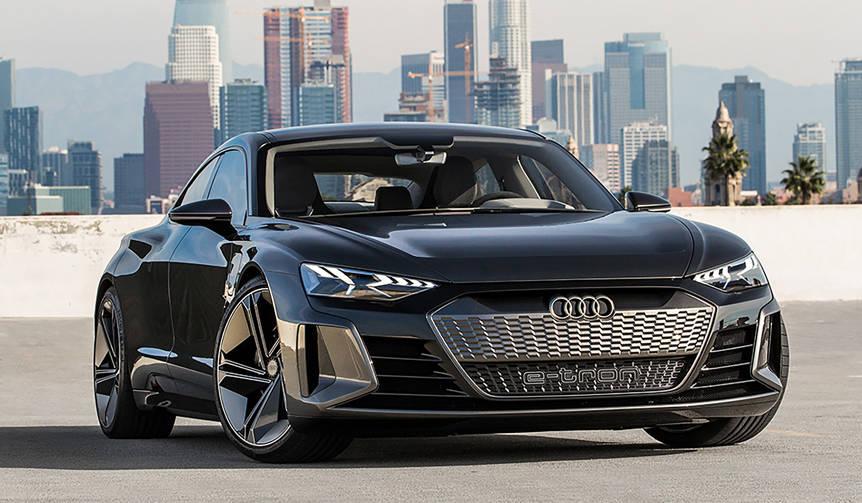 アウディがEVのGTモデル「e-tron GTコンセプト」を発表|Audi
