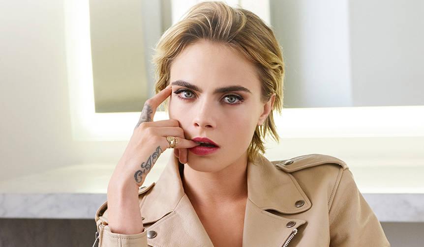 カーラ・デルヴィーニュが、新アディクト リップのミューズに就任|Dior