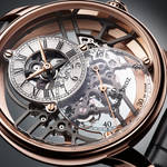 時計の奥深くまで光を取り込む「グラン・セコンド スケルトン」|JAQUET DROZ