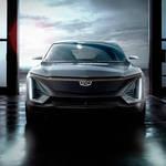 キャデラック初の電気自動車の画像を公開|Cadillac