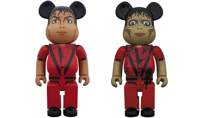 BE@RBRICK Michael Jackson Red Jacket / Zombie 100% & 400% / 1000%|MEDICOM TOY